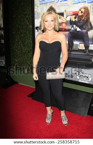 LOS ANGELES - FEB 10: Leigh Allyn Baker at the screening of the Disney Channel Original Movie 'Bad Hair Day' at the Frank G Wells Theater on February 10, 2015 in Burbank, CA - stock photo