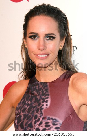 LOS ANGELES - FEB 22: louise roe at the Elton John Oscar Party 2015 at the City Of West Hollywood Park on February 22, 2015 in West Hollywood, CA - stock photo