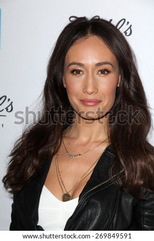 LOS ANGELES - FEB 15:  Maggie Q at the Kiehls Earth Day Creamy Eye Treatment at the Kiehls on April 15, 2015 in Santa Monica, CA