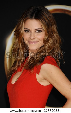 LOS ANGELES - FEB 13 - Maria Menounos arrives at the Oz The Great and Powerful World Premiere on February 13, 2013 in Los Angeles, CA              - stock photo