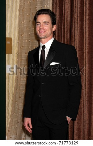 LOS ANGELES - FEB 22:  Matt Bomer arrives at the 13th Annual Costume Designers Guild Awards at Beverly Hilton Hotel on February 22, 2011 in Beverly Hills, CA