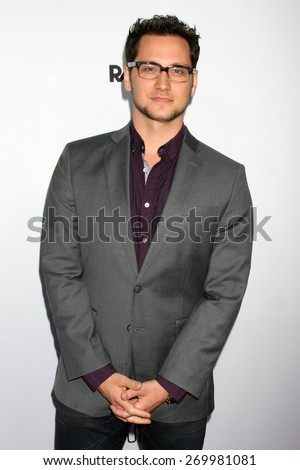 "LOS ANGELES - FEB 15:  Matt McGorry at the ""Adult Beginners"" Los Angeles Premiere at the ArcLight Hollywood Theaters on April 15, 2015 in Los Angeles, CA - stock photo"