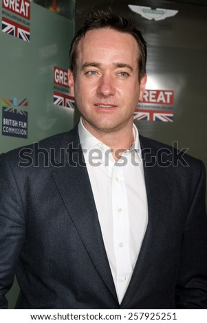 LOS ANGELES - FEB 20:  Matthew Macfadyen at the GREAT British Film Reception Honoring The British Nominees Of The 87th Annual Academy Awards at London Hotel on February 20, 2015 in West Hollywood, CA - stock photo