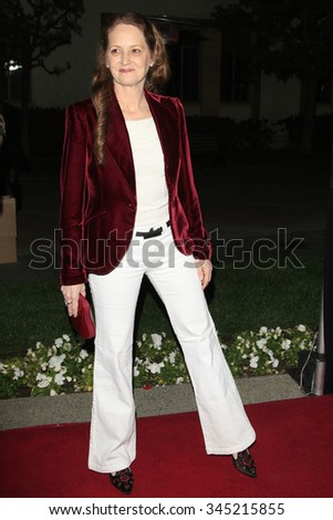 LOS ANGELES - FEB 15:  Melissa Leo at the Make-Up Artists And Hair Stylists Guild Awards 2014 at the Paramount Theater on February 15, 2014 in Los Angeles, CA - stock photo