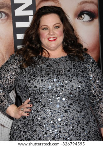 LOS ANGELES - FEB 4 - Melissa McCarthy arrives at the Identity Thief World Premiere on February 4, 2013 in Los Angeles, CA              - stock photo