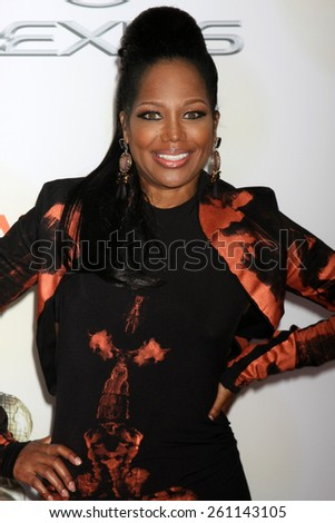 LOS ANGELES - FEB 6:  Michel'le at the 46th NAACP Image Awards Arrivals at a Pasadena Convention Center on February 6, 2015 in Pasadena, CA - stock photo