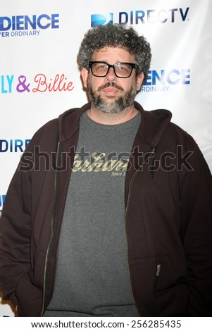 "LOS ANGELES - FEB 25:  Neil LaBute at the ""Billy & Billie"" Premiere Screening of DirecTV's Series at  The Lot on February 25, 2015 in Los Angeles, CA - stock photo"