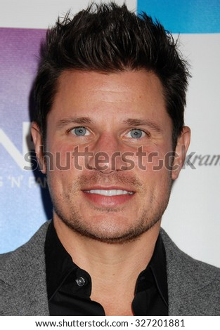 LOS ANGELES - FEB 8 - Nick Lachey arrives at the 16th Annual Friends N Family Pre Grammy Party on February 8, 2013 in Los Angeles, CA              - stock photo