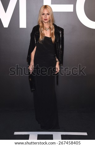 LOS ANGELES - FEB 20:  Rachel Zoe arrives to the Tom Ford Autumn/Winter 2015 Womenswear Collection Presentation  on February 20, 2015 in Hollywood, CA                 - stock photo