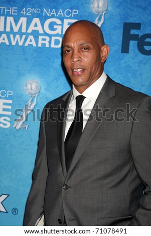 LOS ANGELES - FEB 12:  Ray Charles Robinson Jr. arrives at the 2011 NAACP Image Awards Nominee Reception at Beverly Hills Hotel on February 12, 2011 in Beverly Hills, CA