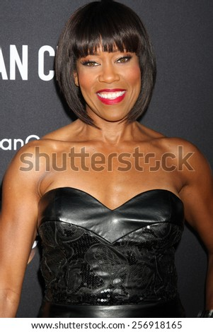 """LOS ANGELES - FEB 28:  Regina King at the """"American Crime"""" Premiere Screening at the The Theatre at Ace Hotel on February 28, 2015 in Los Angeles, CA - stock photo"""