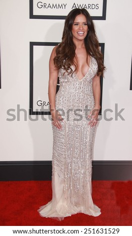 LOS ANGELES - FEB 8:  Rocsi Diaz at the 57th Annual GRAMMY Awards Arrivals at a Staples Center on February 8, 2015 in Los Angeles, CA - stock photo