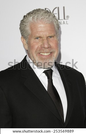 LOS ANGELES - FEB 14: Ron Perlman at the Make-Up Artists & Hair Stylists Guild Awards at the Paramount Theater on February 14, 2015 in Los Angeles, CA - stock photo