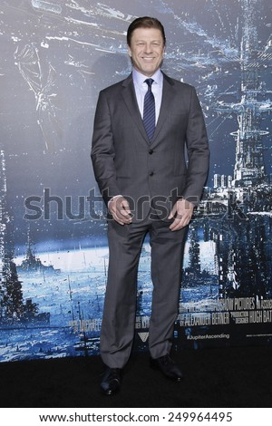 LOS ANGELES - FEB 2: Sean Bean at the 'Jupiter Ascending' Los Angeles Premiere at TCL Chinese Theater on February 2, 2015 in Hollywood, Los Angeles, California - stock photo