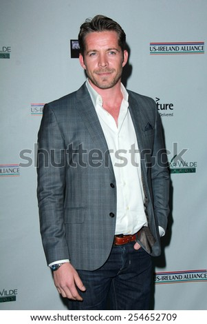 LOS ANGELES - FEB 19:  Sean McGuire at the Oscar Wilde US-Ireland Pre-Academy Awards Event at a Bad Robot on February 19, 2015 in Santa Monica, CA - stock photo