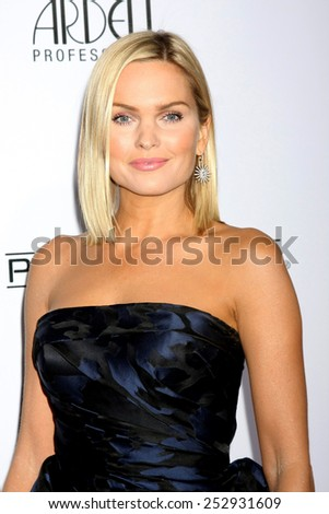 LOS ANGELES - FEB 14:  Sunny Mabrey at the 2015 Make-up and Hair Stylists Guild Awards at a Paramount Theater on February 14, 2015 in Los Angeles, CA - stock photo