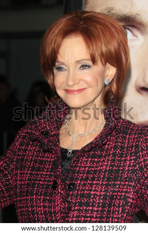 LOS ANGELES - FEB 9:  Swoosie Kurtz arrives at the ROC NATION Annual Pre-Grammy Brunch at the Soho House on February 9, 2013 in West Hollywood, CA - stock photo