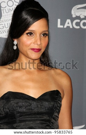 LOS ANGELES - FEB 21:  Sydney Taniia Poitier arrives at the 14th Annual Costume Designers Guild Awards at the Beverly Hilton Hotel on February 21, 2012 in Beverly Hills, CA.