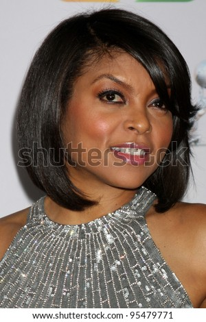 LOS ANGELES - FEB 17:  Taraji P. Henson arrives at the 43rd NAACP Image Awards at the Shrine Auditorium on February 17, 2012 in Los Angeles, CA
