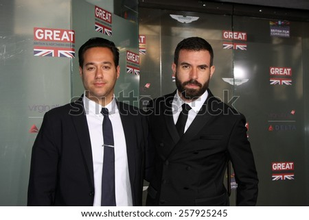 LOS ANGELES - FEB 20:  Tom Cullen at the GREAT British Film Reception Honoring The British Nominees Of The 87th Annual Academy Awards at a London Hotel on February 20, 2015 in West Hollywood, CA - stock photo