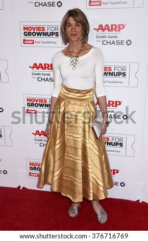 LOS ANGELES - FEB 8 - Wendie Malick arrives at the 15th Annual Movies For Grownups Awards on February 8, 2016 in Beverly Hills, CA