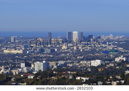 los angeles, hollywood,santa monica and the ocean