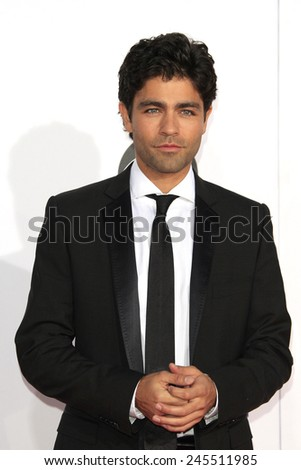 LOS ANGELES - JAN 7: Adrian Grenier at the 2015 People's Choice Awards at Nokia Theater L.A. Live on January 7, 2015 in Los Angeles, California - stock photo