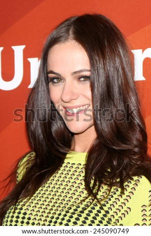 LOS ANGELES - JAN 15:  Alexandra Park at the NBCUniversal Cable TCA Winter 2015 at a The Langham Huntington Hotel on January 15, 2015 in Pasadena, CA - stock photo