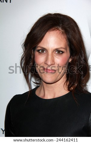 LOS ANGELES - JAN 11:  Annabeth Gish at the The Weinstein Company / Netflix Golden Globes After Party at a Beverly Hilton Adjacent on January 11, 2015 in Beverly Hills, CA - stock photo
