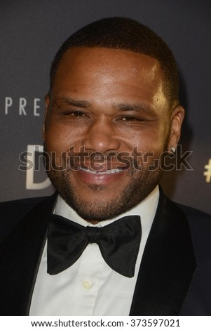 LOS ANGELES - JAN 31:  Anthony Anderson at the Art Directors Guild 20th Annual Excellence In Production Awards at the Beverly Hilton Hotel on January 31, 2016 in Beverly Hills, CA