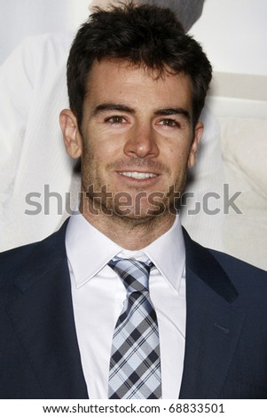 """LOS ANGELES - JAN 11:  Ben Lawson arrives at the """"No Strings"""" Premiere at Regency Village Theater on January 11, 2011 in Westwood, CA - stock photo"""