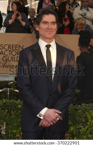 LOS ANGELES - JAN 30:  Billy Crudup at the 22nd Screen Actors Guild Awards at the Shrine Auditorium on January 30, 2016 in Los Angeles, CA - stock photo
