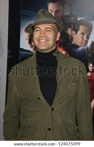 LOS ANGELES - JAN 7: Billy Zane at Warner Bros. Pictures' 'Gangster Squad' premiere at Grauman's Chinese Theater on January 7, 2013 in Los Angeles, California - stock photo