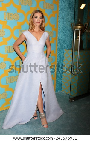 LOS ANGELES - JAN 11:  Bridget Regan at the HBO Post Golden Globe Party at a Circa 55, Beverly Hilton Hotel on January 11, 2015 in Beverly Hills, CA - stock photo