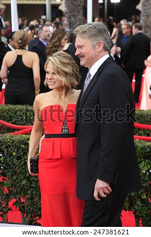LOS ANGELES - JAN 25:  Celia Keenan-Bolger, John Ellison Conlee at the 2015 Screen Actor Guild Awards at the Shrine Auditorium on January 25, 2015 in Los Angeles, CA - stock photo