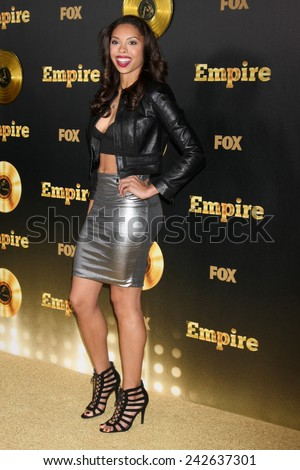 "LOS ANGELES - JAN 6:  Ciera Payton at the FOX TV ""Empire"" Premiere Event at a ArcLight Cinerama Dome Theater on January 6, 2014 in Los Angeles, CA - stock photo"