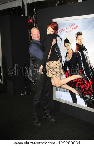 LOS ANGELES - JAN 24: Derek Mears at the LA premiere of Paramount Pictures' 'Hansel And Gretel: Witch Hunters' at Grauman's Chinese Theater on January 24, 2013 in Los Angeles, California - stock photo