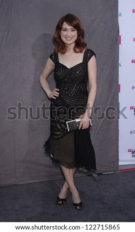 LOS ANGELES - JAN 12:  ELLIE KEMPER arriving to Critic's Choice Movie Awards 2012  on January 12, 2012 in Hollywood, CA