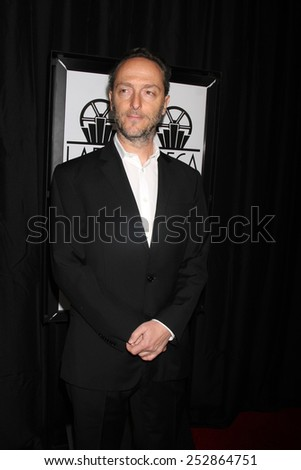 LOS ANGELES - JAN 10:  Emmanuel Lubezki at the 40th Annual Los Angeles Film Critics Association Awards at a Intercontinental Century City on January 10, 2015 in Century City, CA - stock photo