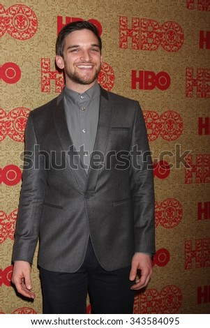LOS ANGELES - JAN 12:  Evan Jonigkeit at the HBO 2014 Golden Globe Party at the Beverly Hilton Hotel on January 12, 2014 in Beverly Hills, CA - stock photo