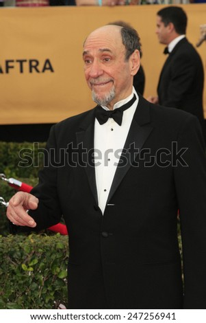 LOS ANGELES - JAN 25:  F. Murray Abraham at the 2015 Screen Actor Guild Awards at the Shrine Auditorium on January 25, 2015 in Los Angeles, CA - stock photo