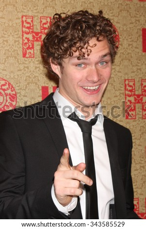 LOS ANGELES - JAN 12:  Finn Jones at the HBO 2014 Golden Globe Party at the Beverly Hilton Hotel on January 12, 2014 in Beverly Hills, CA - stock photo