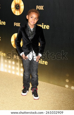 "LOS ANGELES - JAN 6:  Genis Wooten at the FOX TV ""Empire"" Premiere Event at a ArcLight Cinerama Dome Theater on January 6, 2014 in Los Angeles, CA - stock photo"