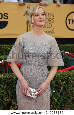 LOS ANGELES - JAN 25:  Gretchen Mol at the 2015 Screen Actor Guild Awards at the Shrine Auditorium on January 25, 2015 in Los Angeles, CA - stock photo