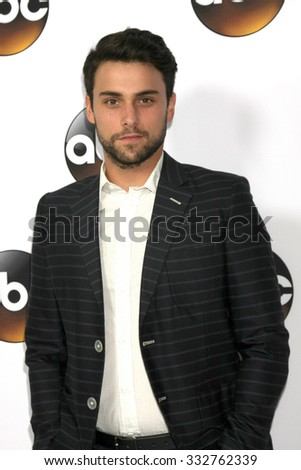 LOS ANGELES - JAN 14:  Jack Falahee at the ABC TCA Winter 2015 at a The Langham Huntington Hotel on January 14, 2015 in Pasadena, CA