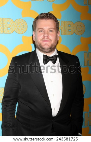 LOS ANGELES - JAN 11:  James Corden at the HBO Post Golden Globe Party at a Circa 55, Beverly Hilton Hotel on January 11, 2015 in Beverly Hills, CA - stock photo
