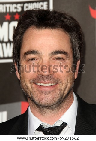 "LOS ANGELES - JAN 14: Jon Tenney arrives to 16th Annual ""Critics"" Choice Movie Awards  on January 14, 2011 in Los Angeles, CA."