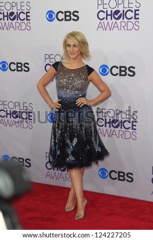 LOS ANGELES - JAN 9: Julianne Hough at the 39th Annual People's Choice Awards at Nokia Theater L.A. Live on January 9, 2013 in Los Angeles, California