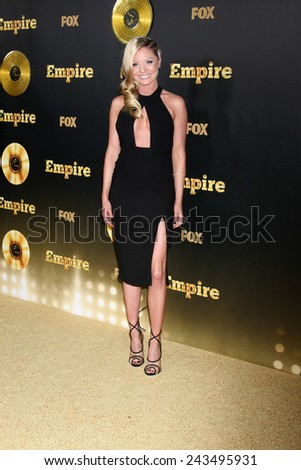 "LOS ANGELES - JAN 6:  Kaitlin Doubleday at the FOX TV ""Empire"" Premiere Event at a ArcLight Cinerama Dome Theater on January 6, 2014 in Los Angeles, CA - stock photo"