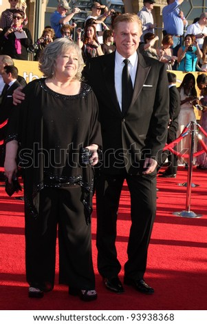 LOS ANGELES - JAN 29:  Kathy Bates and Christopher McDonald arrives at the 18th Annual Screen Actors Guild Awards at Shrine Auditorium on January 29, 2012 in Los Angeles, CA